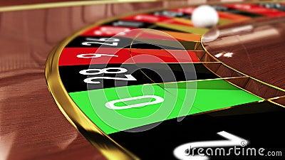 Lucky number vid roulettebordet 138457