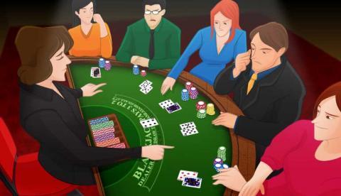 Blackjack basic strategy säkra 65796