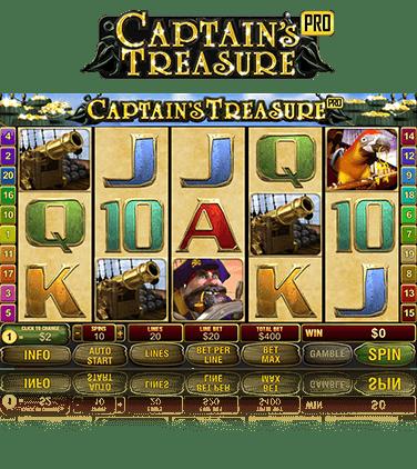 Captain Treasure Pro slot 27945