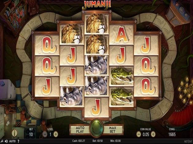 Vann casinotävlingen Jumanji 129493